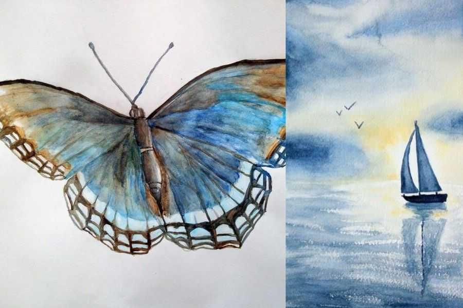 Technique Seche A L Aquarelle Ou Mouille Sur Sec Le Guide