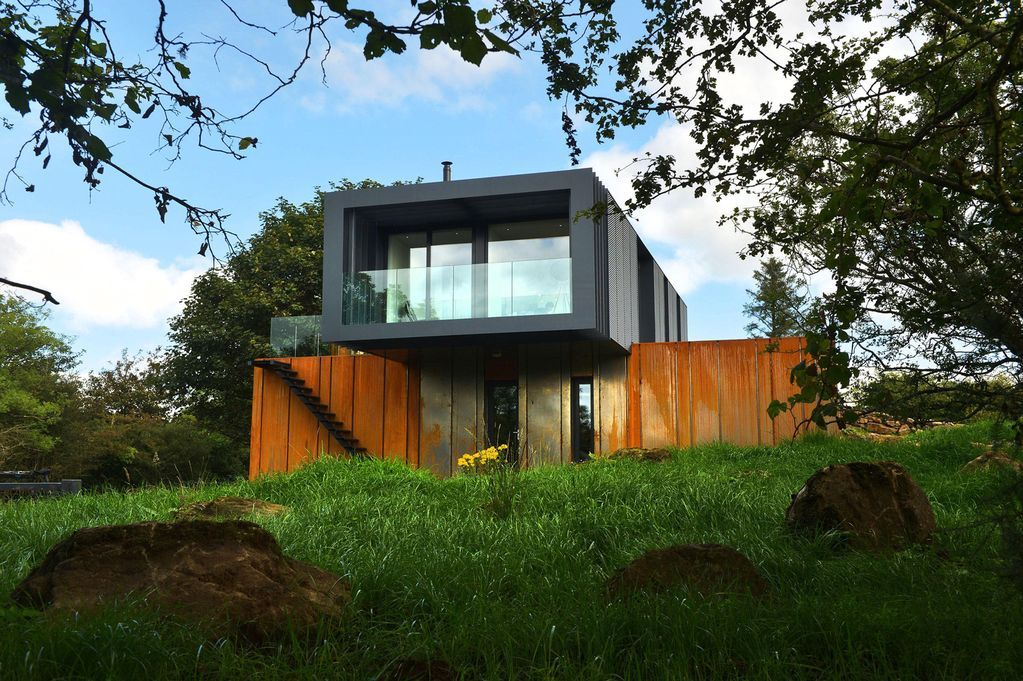 Welsh Architects Sing Praises Of Shipping Container Conversion Grand Designs Housesshipping