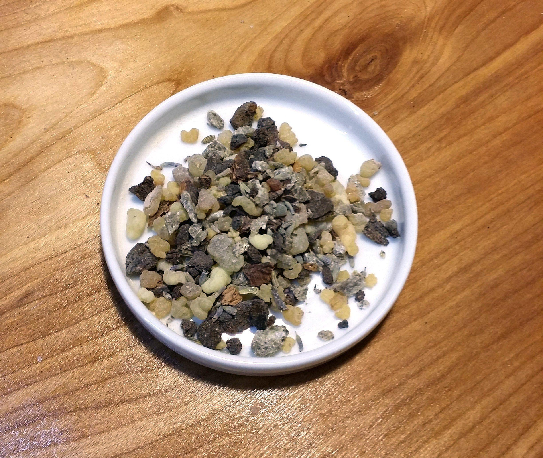 Celtic Blend Resin Charcoal Resin Incense Resin Loose