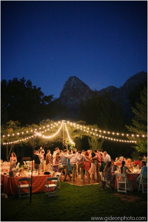 Night Time Lighting For Endless Partying Outdoor Sweet 16
