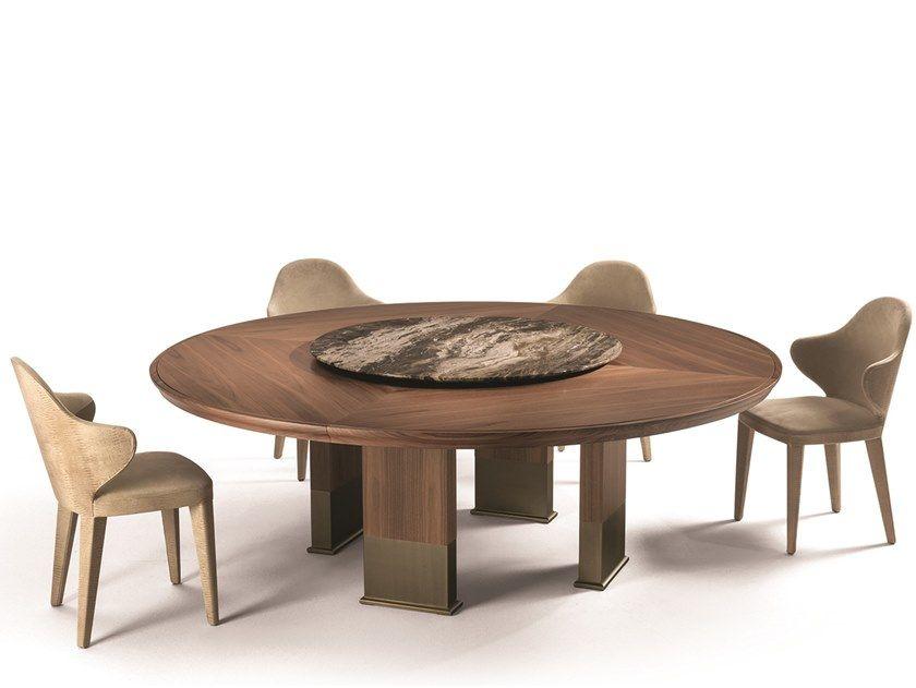 Telechargez Le Catalogue Et Demandez Les Prix De Edward Table Ronde By Longhi Table Ronde Lazy Susan En Bois C Table Table Ronde Et Bois