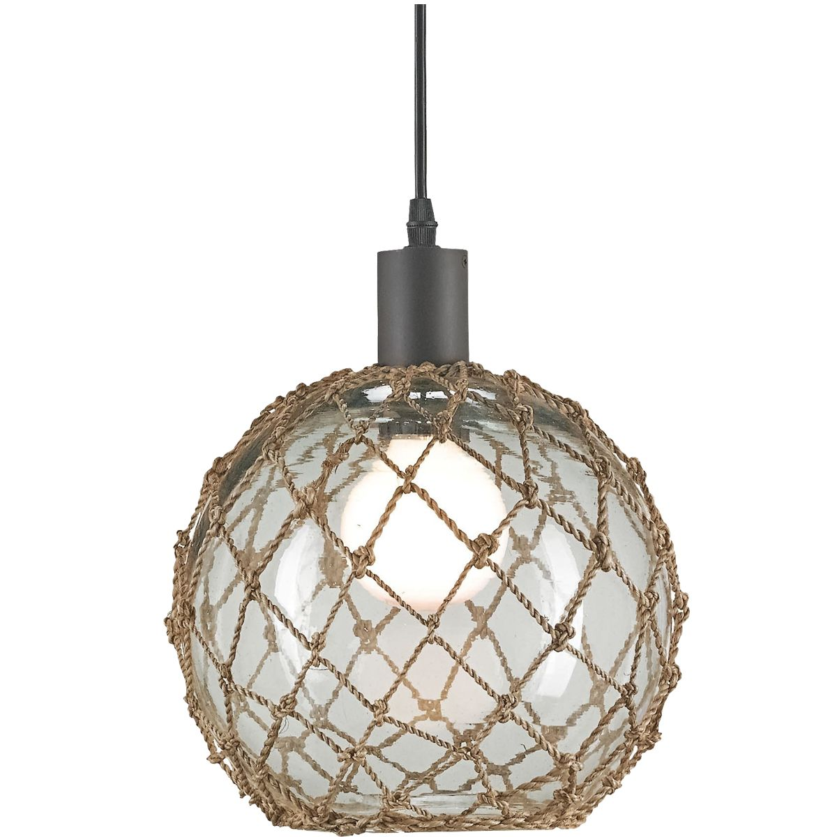 Fishing net sphere chandelier glass float brig pinterest fish cottage and french country painted furniture and decor pendant lightschandelier arubaitofo Images