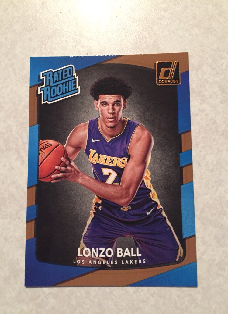 Lonzo Ball Rated Rookie Mercari Buy Sell Things You Love