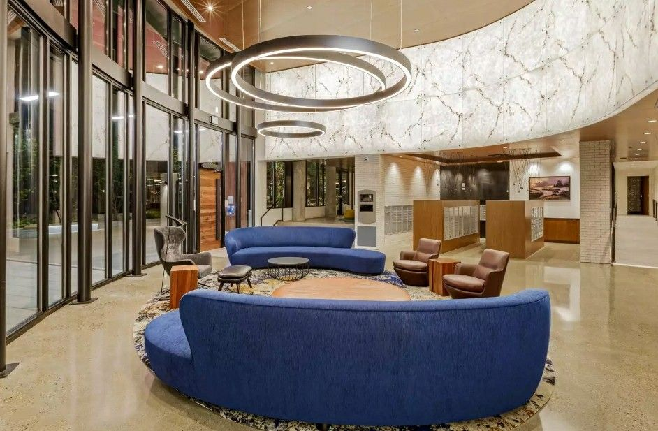 Cascade I&II Apartment Lobby, Seattle WA Seattle