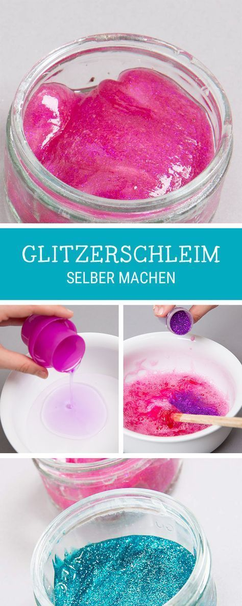diy anleitung f r kinder schleim mit glitzer selbermachen funky and trendy slime tutorial