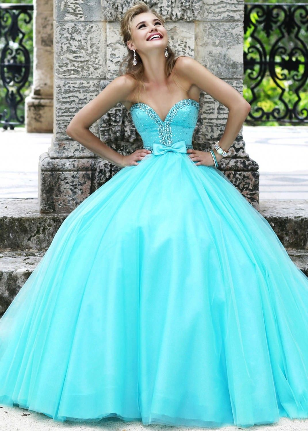 Sherri Hill 21367 Strapless Beaded Gown | Prom Dresses | Pinterest ...
