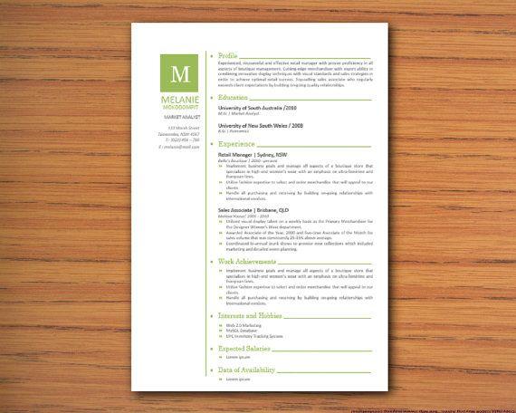 Microsoft Word Lebenslauf Vorlage Melanie Mokodompit 3 Diy