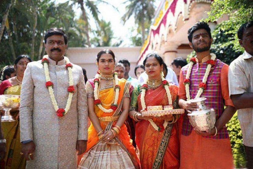 Gali Janardhan Reddy Daughter Marriage Stills | TollyWood Movie