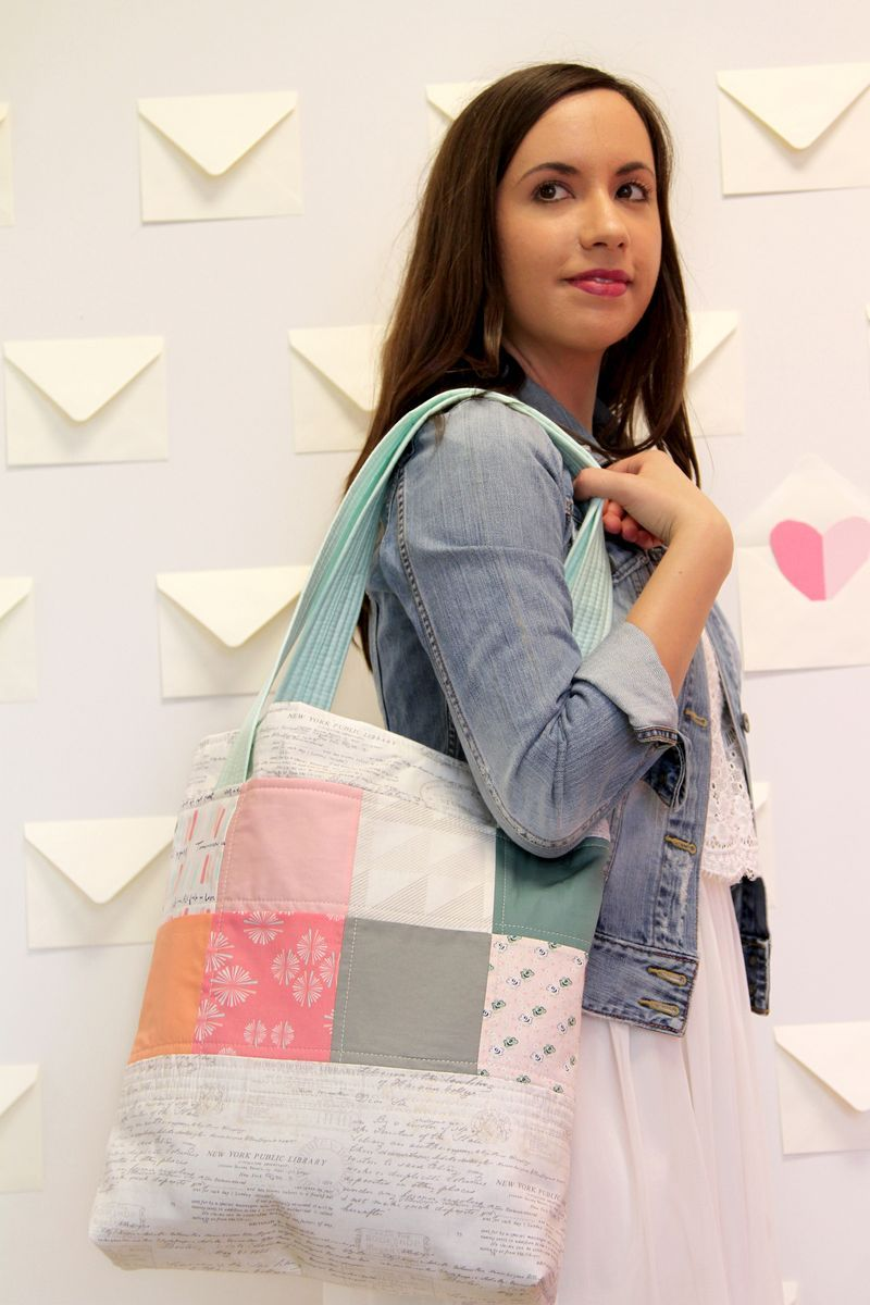 Free Pattern - Elise Bag In Paperie