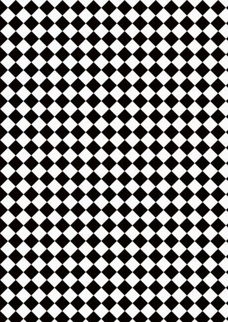 Black /& White Floor Tile Paper Dolls House Miniature Flooring