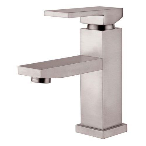 Brushed Nickel Single Handle Lavatory Faucet Yosemite Home Decor Single  Hole Bathroom Fauc