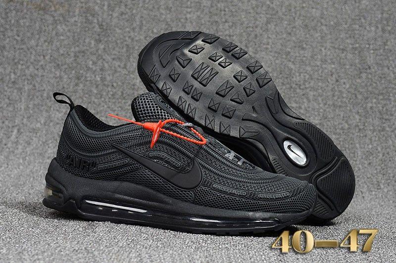 22417754 Nike Air Max 97 KPU Carbon Black | Air Max Shoes | Off white shoes ...