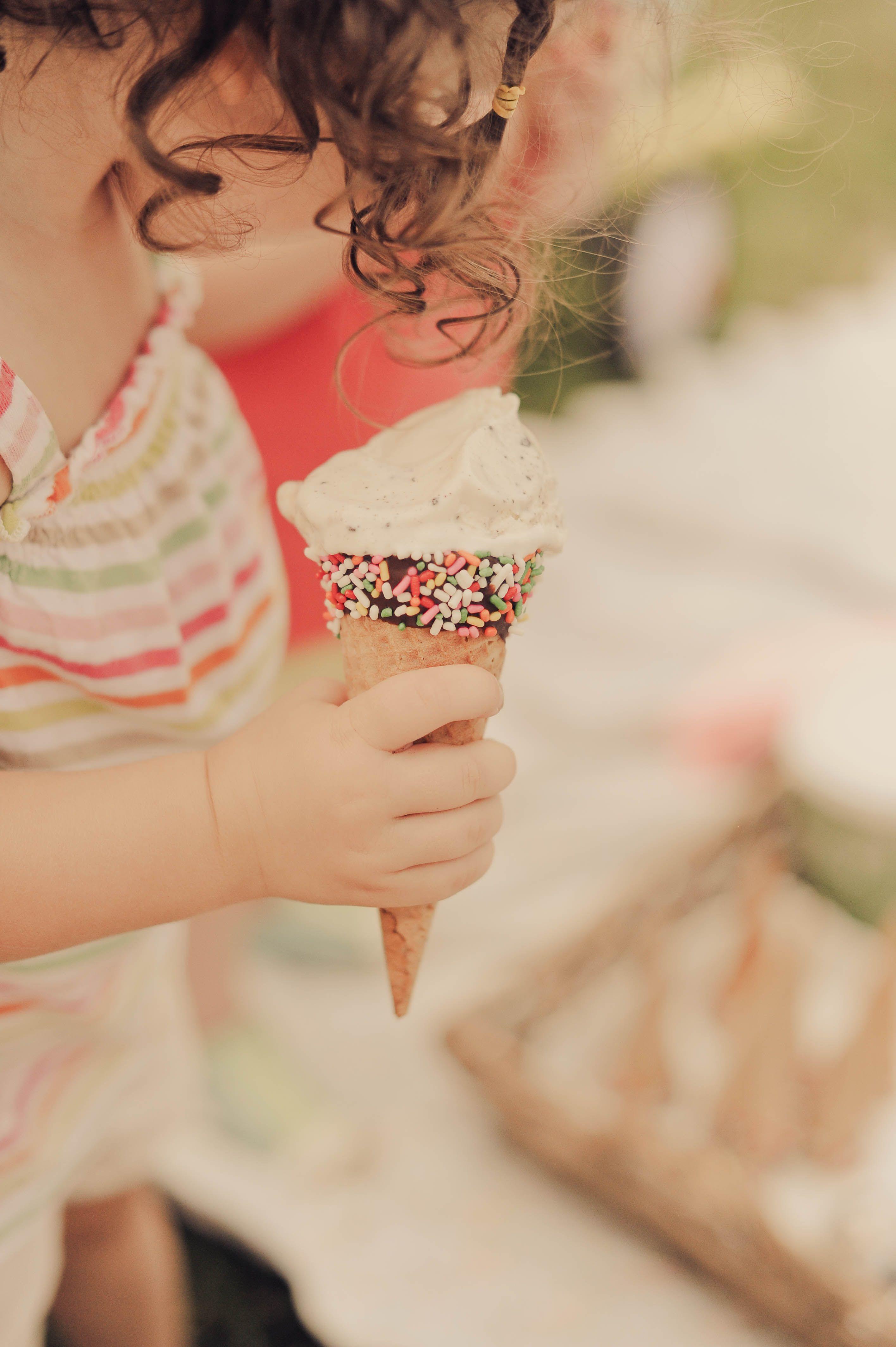 sprinkle cones {stevie pattyn for shop sweet lulu}