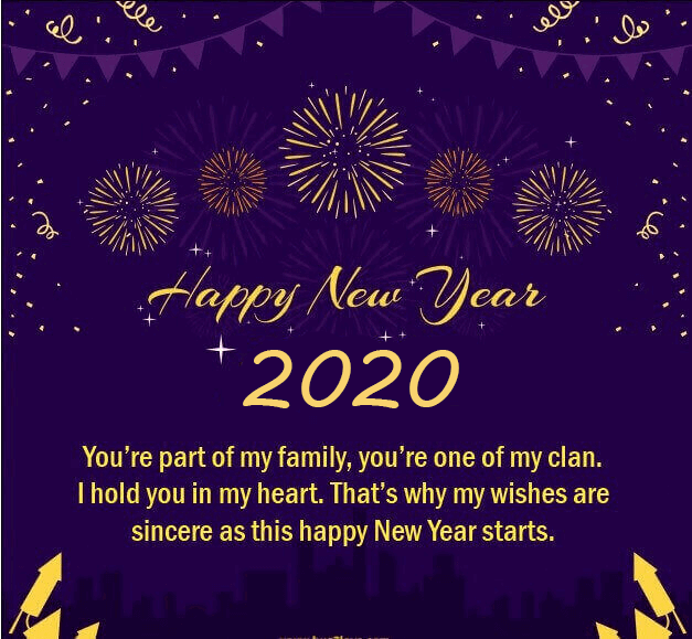 60 Happy New Year 2020 Love Quotes for Him / Boyfriend (I