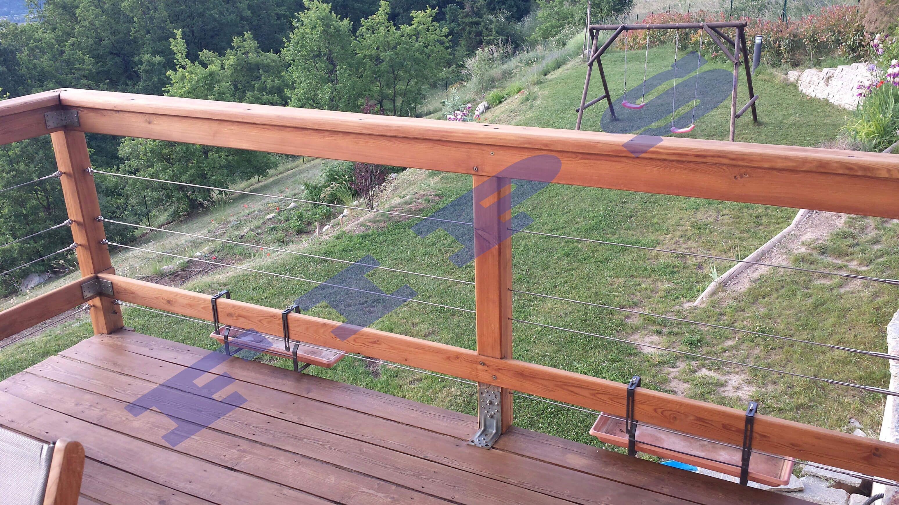 rambarde bois terrasse exterieur recherche google am nagement ext rieur outdoor decor. Black Bedroom Furniture Sets. Home Design Ideas