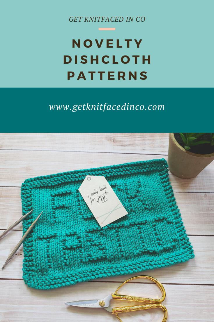 Fucktastic Dishcloth   Knit dishcloth, Beginner knitting ...