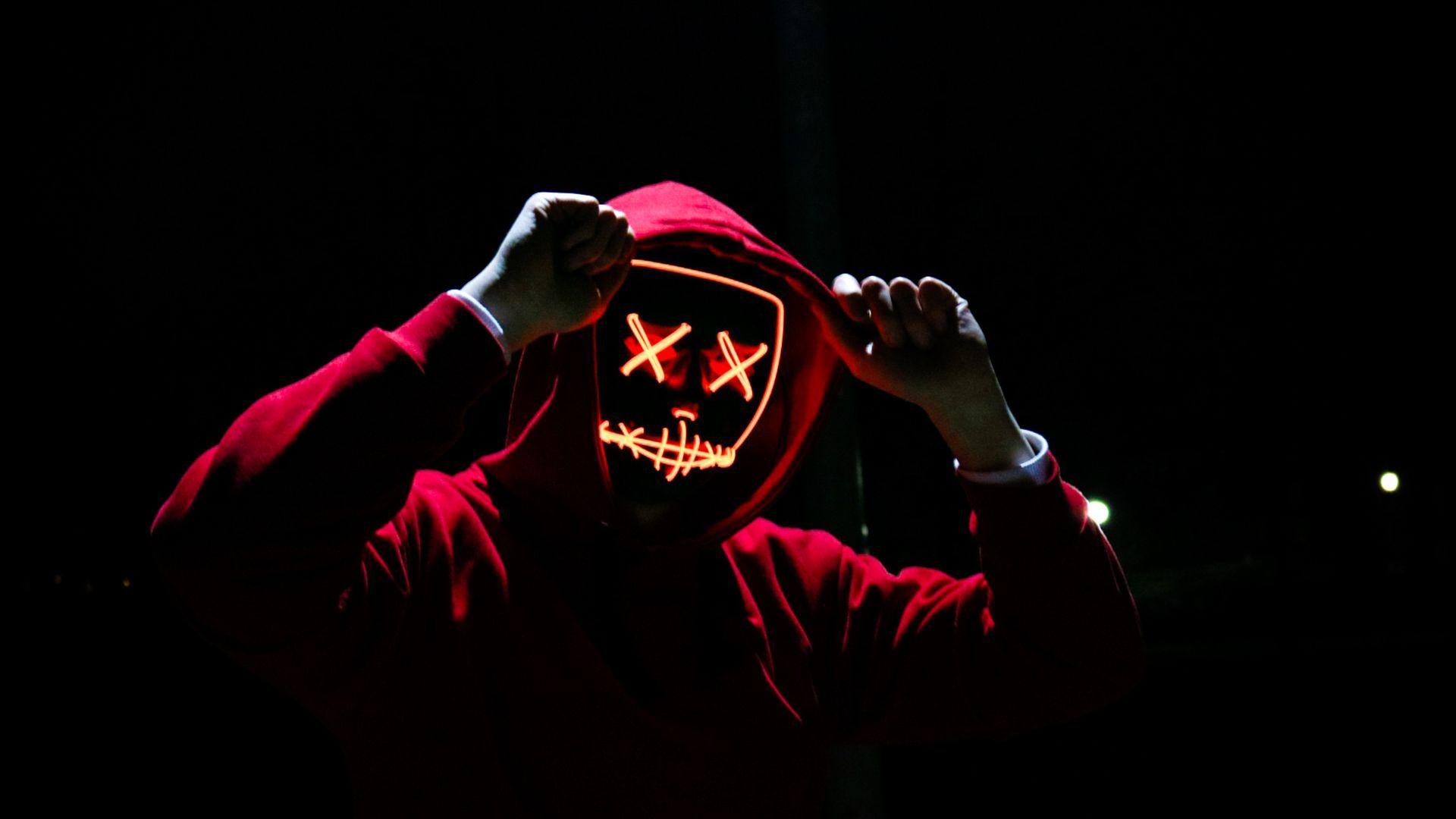Man Wearing Red Hoodie Scary Hd Wallpaper Black Wallpaper Red Hoodie Free Stock Photos