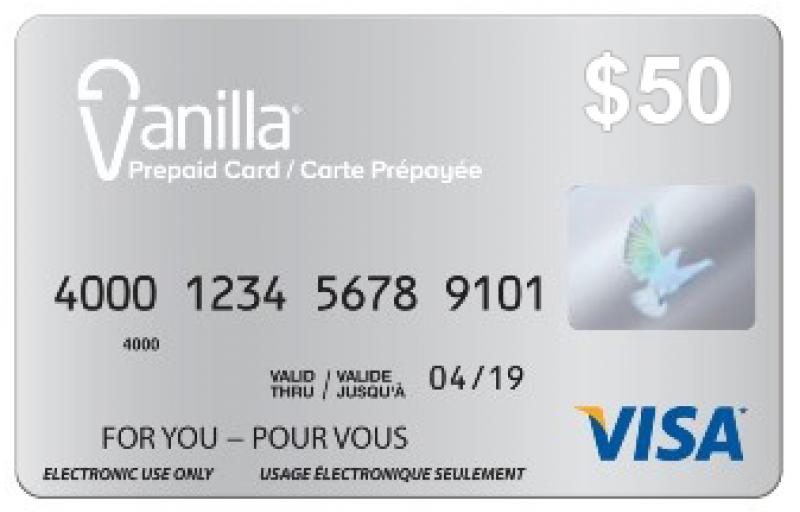 😋 Activate Vanilla Visa Gift Card @ www.myvanillacard.com