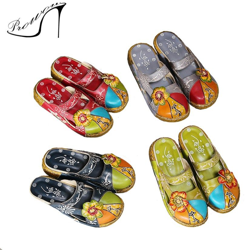 075cb336ba10 Prowow Chinese Style Women Sandals Girls sandals Summer toddler gladiator  Fashion children shoes Kids pu leather