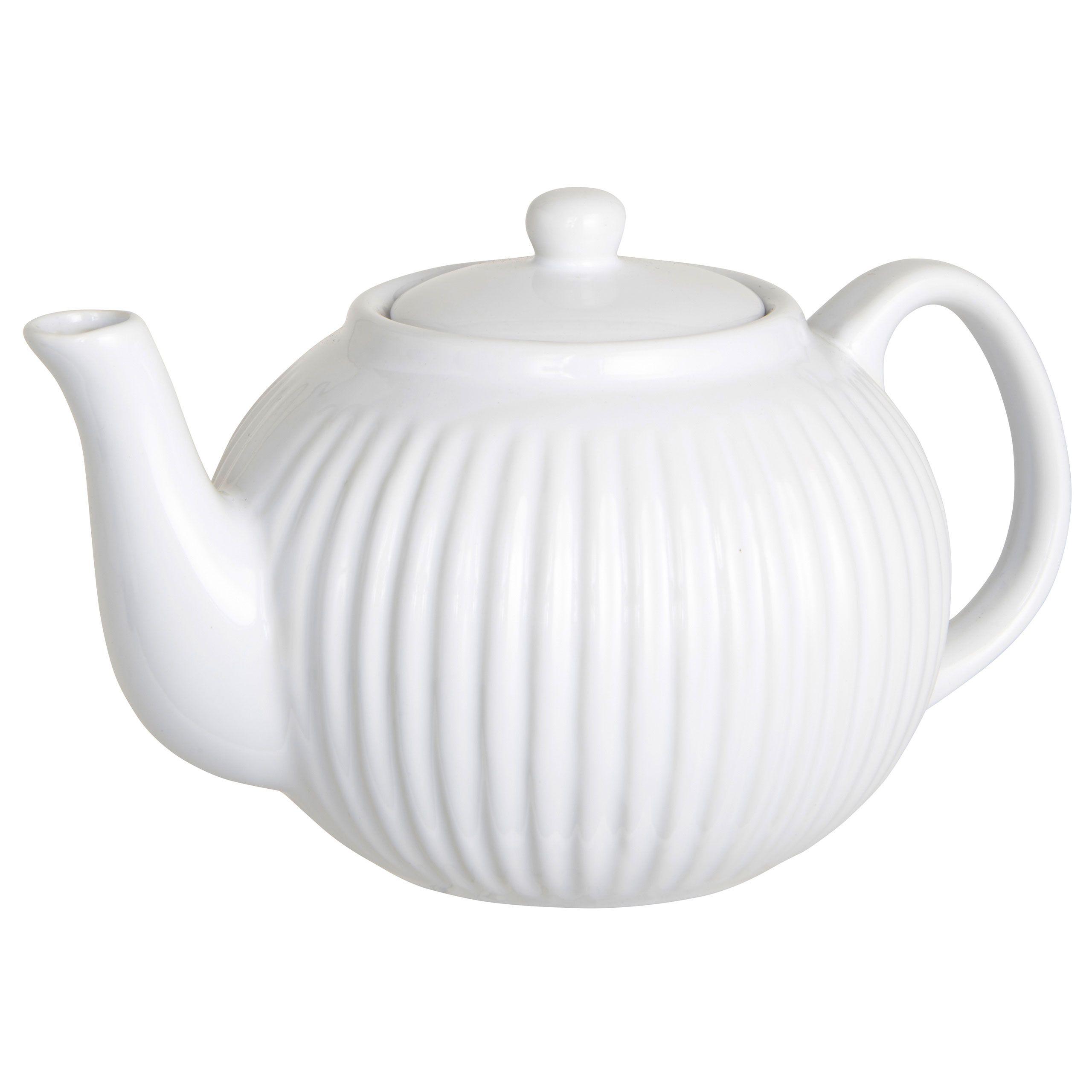 Weiße Teekanne ib laursen mynte teekanne white white