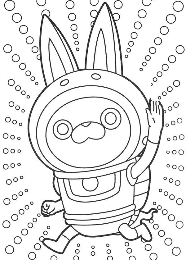 Coloriages A Imprimer Des Personnages Fascinants De Yo Kai Watch