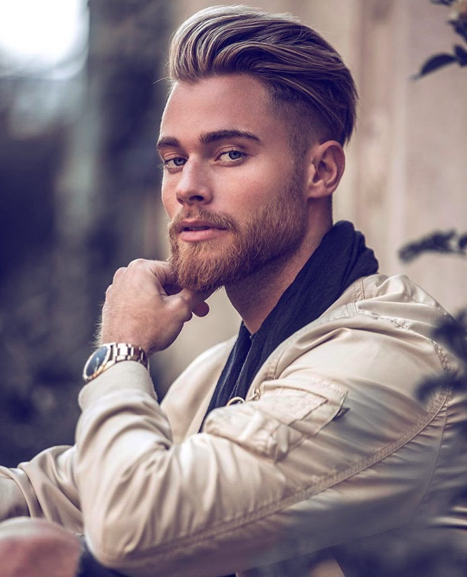 8 394 Likes 15 Comments Men S Hairstyles Inspiration 4hairpleasure On Instagram Follow 4ha Mens Hairstyles Pompadour Boy Hairstyles Mens Hairstyles