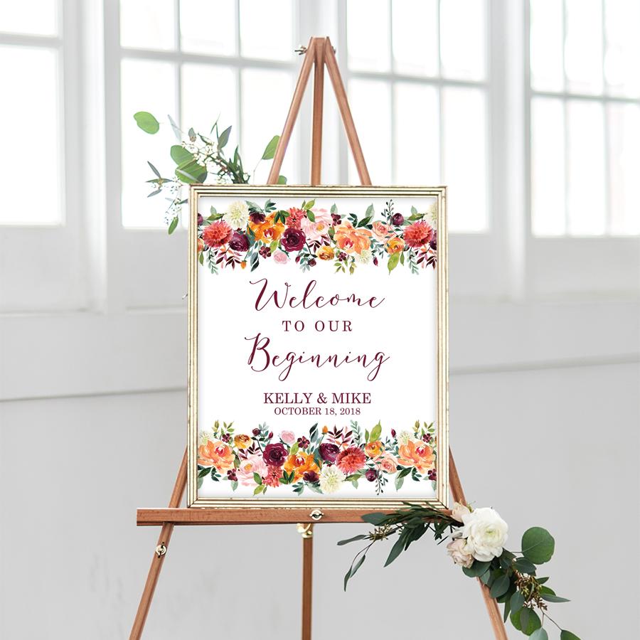 Downloads Wedding Welcome Signs Wedding Welcome Wedding Printables