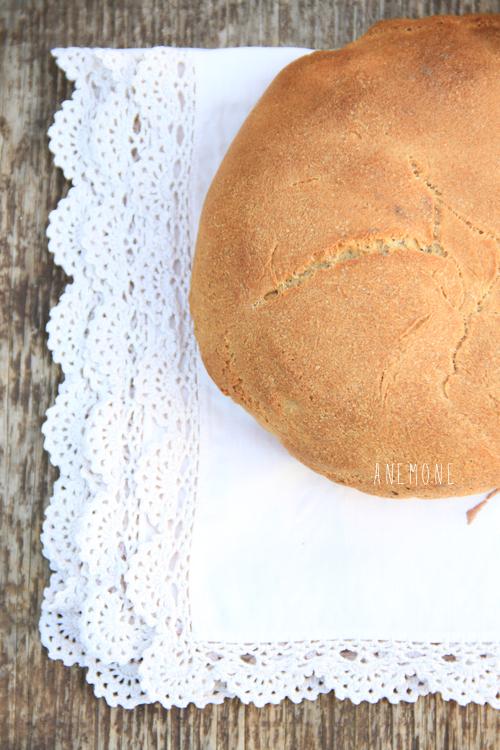 Pane di patate con semola rimacinata e lievito madre