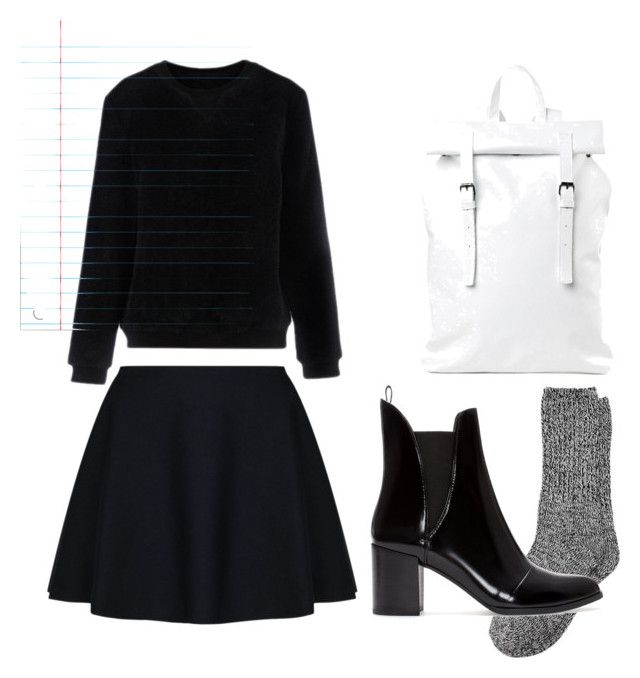 Unbenannt #19 by thechampagner on Polyvore featuring polyvore, moda, style, TWISTY PARALLEL UNIVERSE, Zara, Asya Malbershtein, fashion and clothing