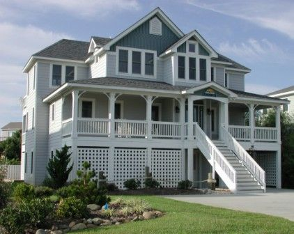 images about outer banks lodging on, Beach House/