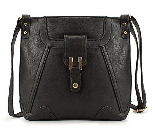 ffe26960bf7 Scarleton Everyday Crossbody Bag H172301 Black -- Click for Special Deals