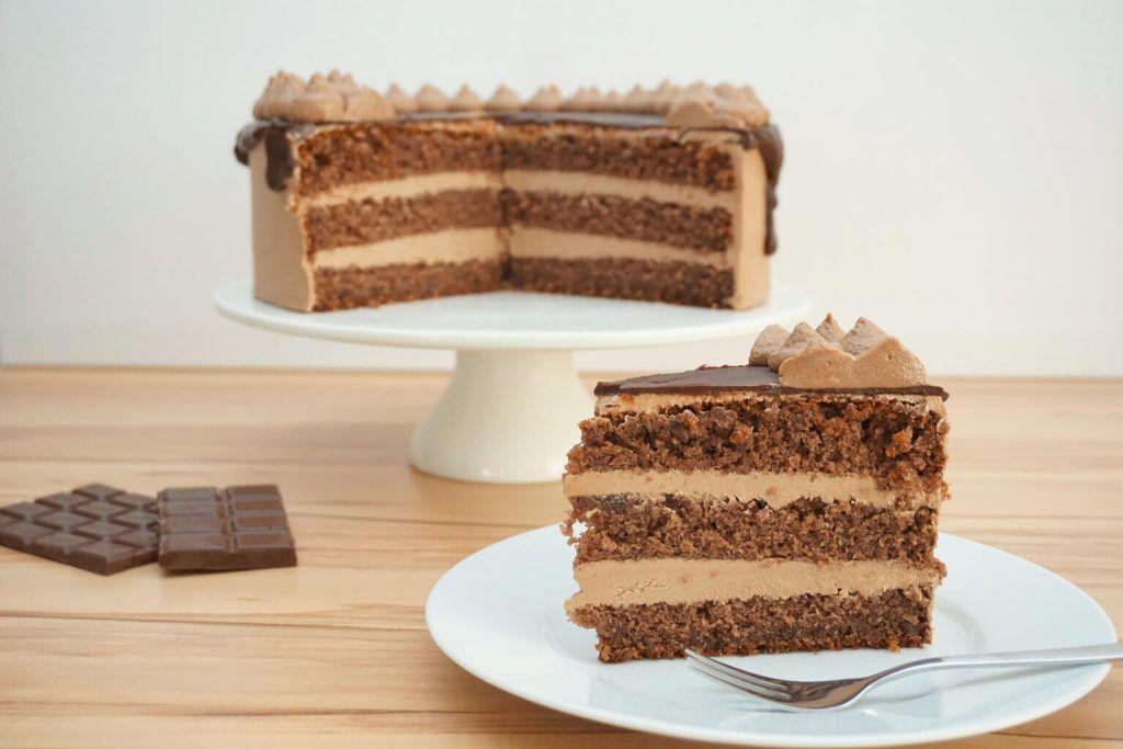 Schokotraum Torte Kuchen Schokobuttercreme Dessert Ideen