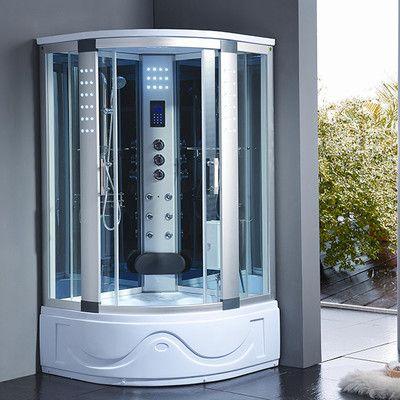 K B Masters 42 X 42 X 83 Corner Shower Enclosure Steam Shower Enclosure Shower Enclosure Shower Cabin