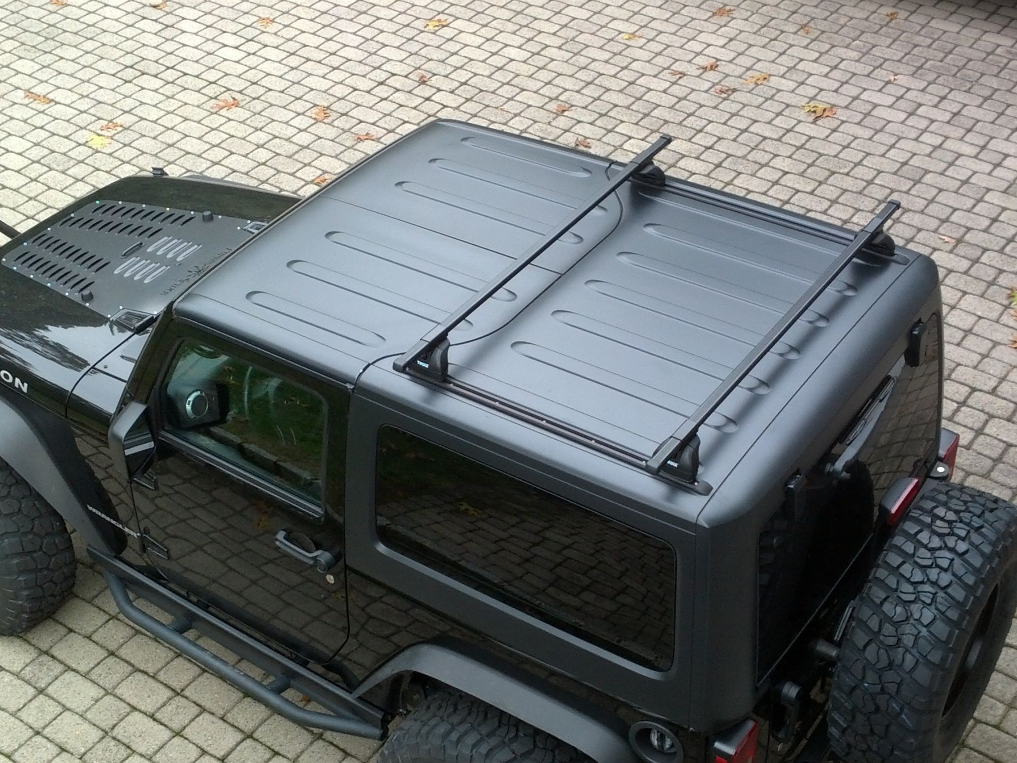 Did A Thule Roof Rack On A 2 Door Hard Top Page 2 Jeep