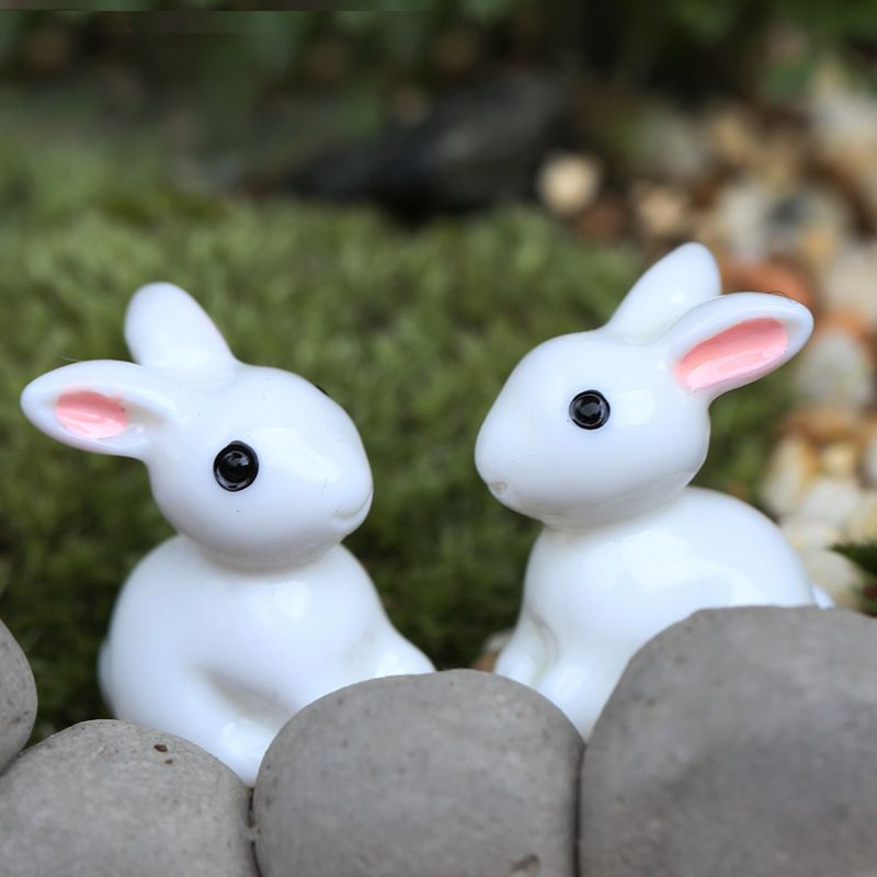 Funny Animal Miniature Fairy Dollhouse Landscape Garden Figurine Bonsai Decor