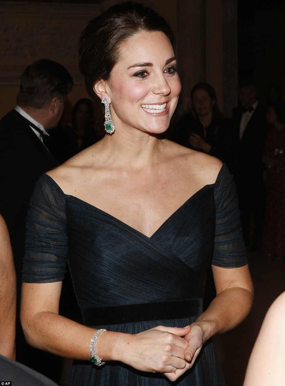 Kate and Wills attend University of St Andrews anniversary dinner