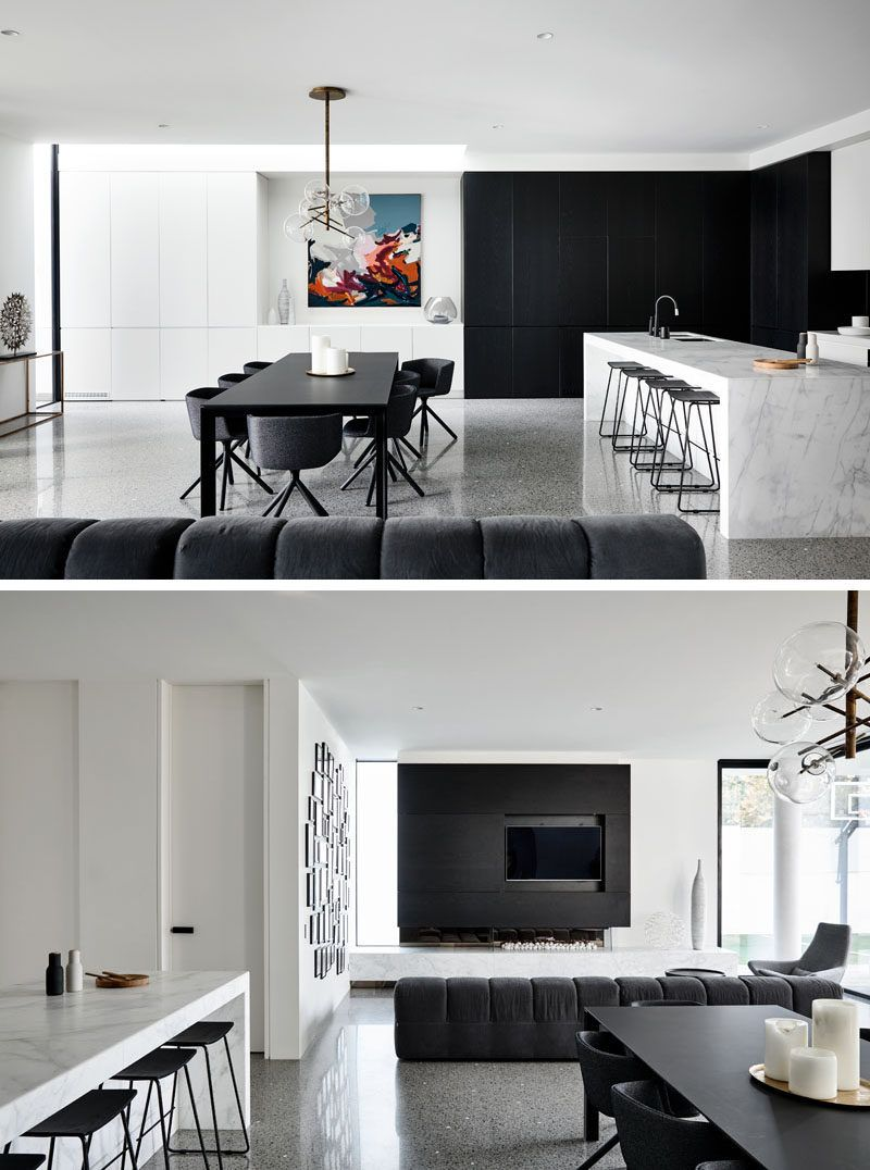 The Cosham Street House By Martin Friedrich Architects Open Plan Kitchen Living Room Modern Dining Room Modern Kitchen Open #open #living #room #and #dining #room