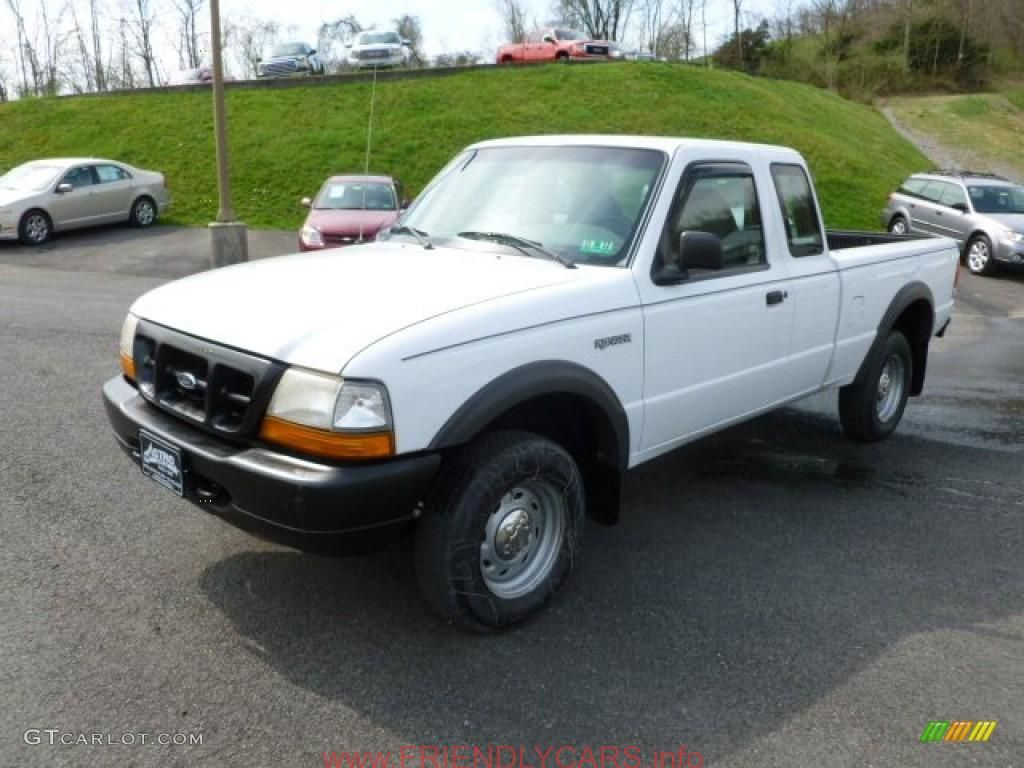 Nice 2000 Ford Ranger 4x4 White Car Images Hd Oxford White 1998