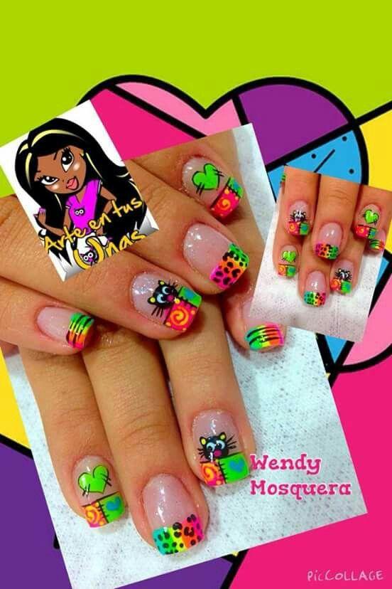 Pin de Zainy SteFany en beauty nails   Uñas, Uñas manos ...