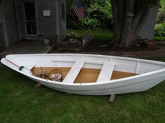 This 1900's Amesbury Dory rowboat is new to the Chatham Historical Society Collection for 2014. Originally the Dory would have been used for line fishing and lobstering. The Dory, owned by the late, Dave Morgan, was donated by his wife. Thanks to Don St. Pierre and Dave Archibald who both did restoration work on the dory. #dory, #chathamhistoricalsociety, #fihsing, #boat, #atwoodhouse, #chatham, #capecod