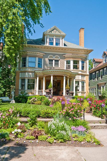Buffalo Ny Victorian Homes Mansions Old Houses