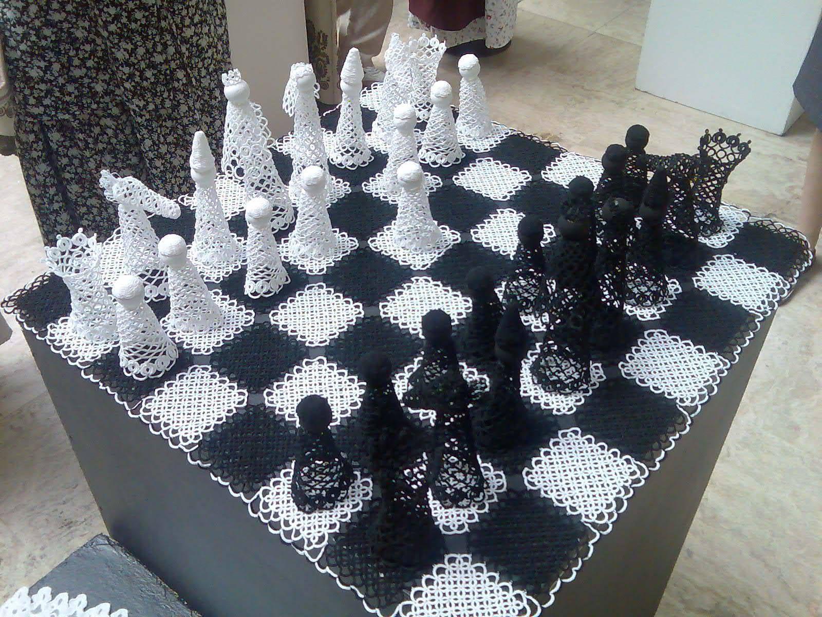 Chess Board by Kinga Jófejű