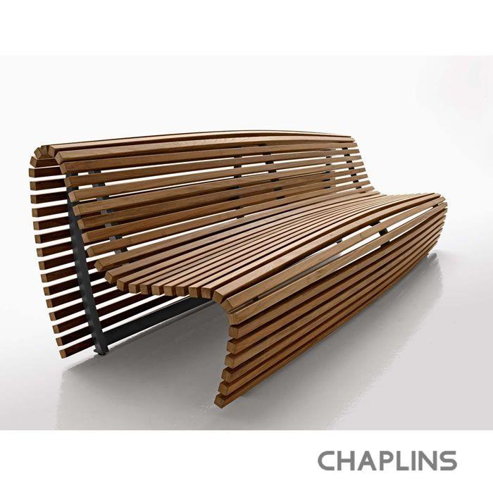 B Italia Titikaka Weird Name Nice Bench Wood Bench Outdoor Outdoor Bench Seating Teak Bench