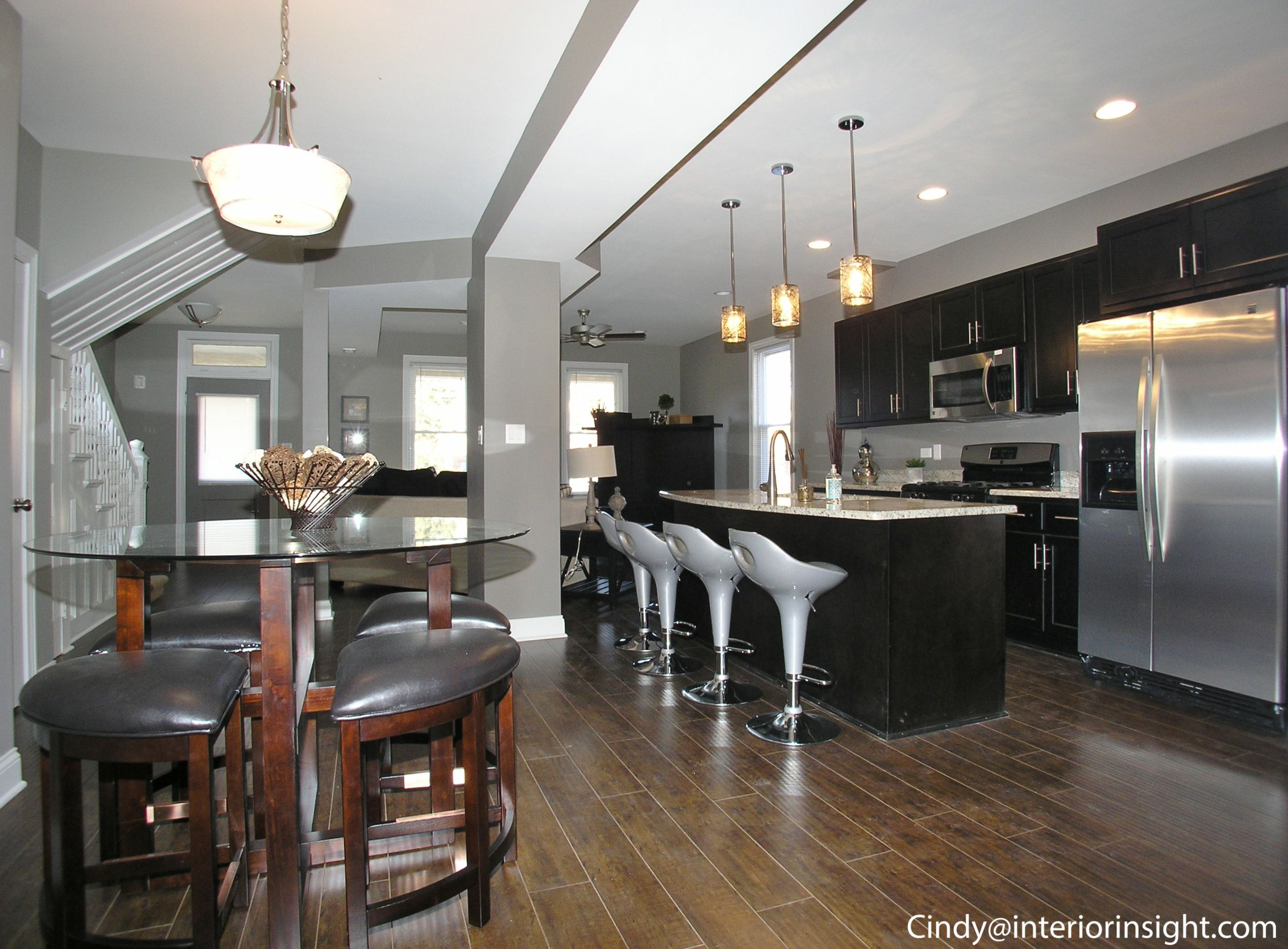 NEW Open Floor Plan In George Slowinskiu0027s Beverly/Chicago Bungalow Listing. Stainless  Steel Fridge