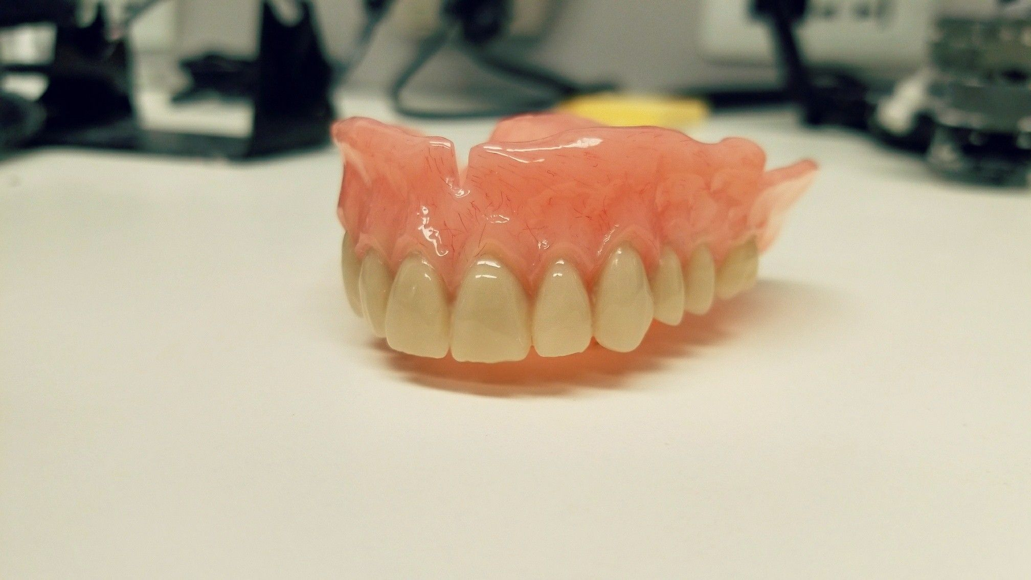 It's always best to go into a denture clinic and ask for a