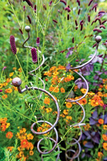Jardin Spiral Stem Flower Supports Set Of 3