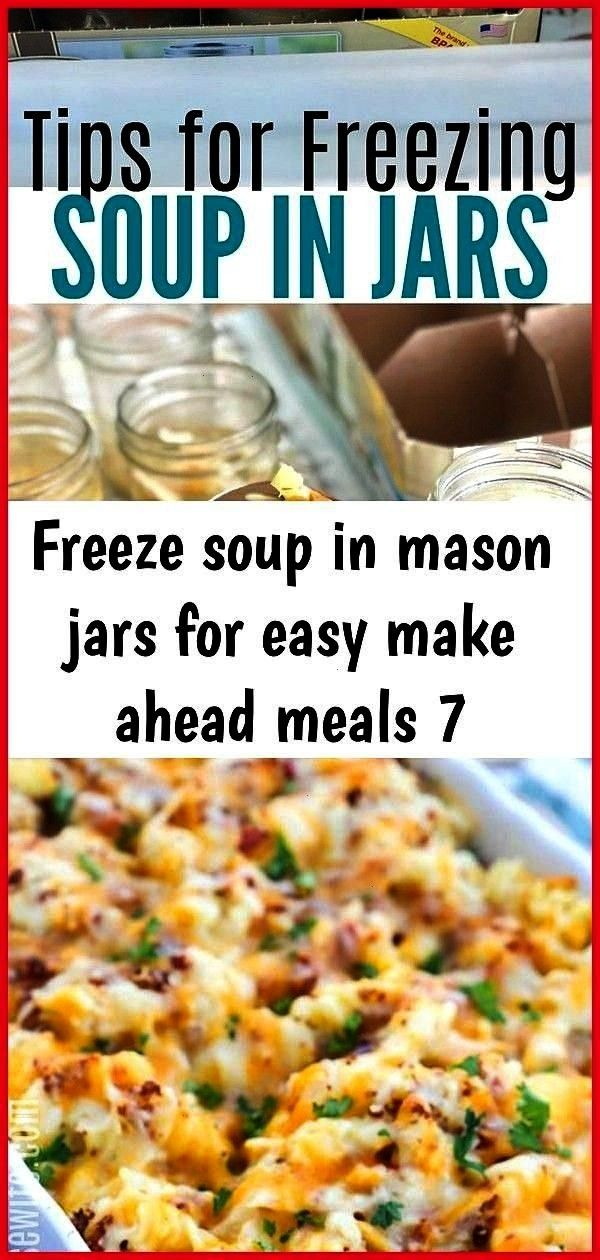 in mason jars for easy make ahead meals 7 Freeze Soup In Mason Jars for EASY Make Ahead Meals Chick