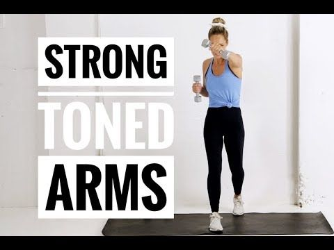 arm toning  strength workout // for strong toned arms