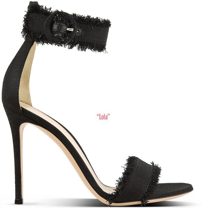 Lola fringed sandals - Black Gianvito Rossi OXbOmO2Wzi