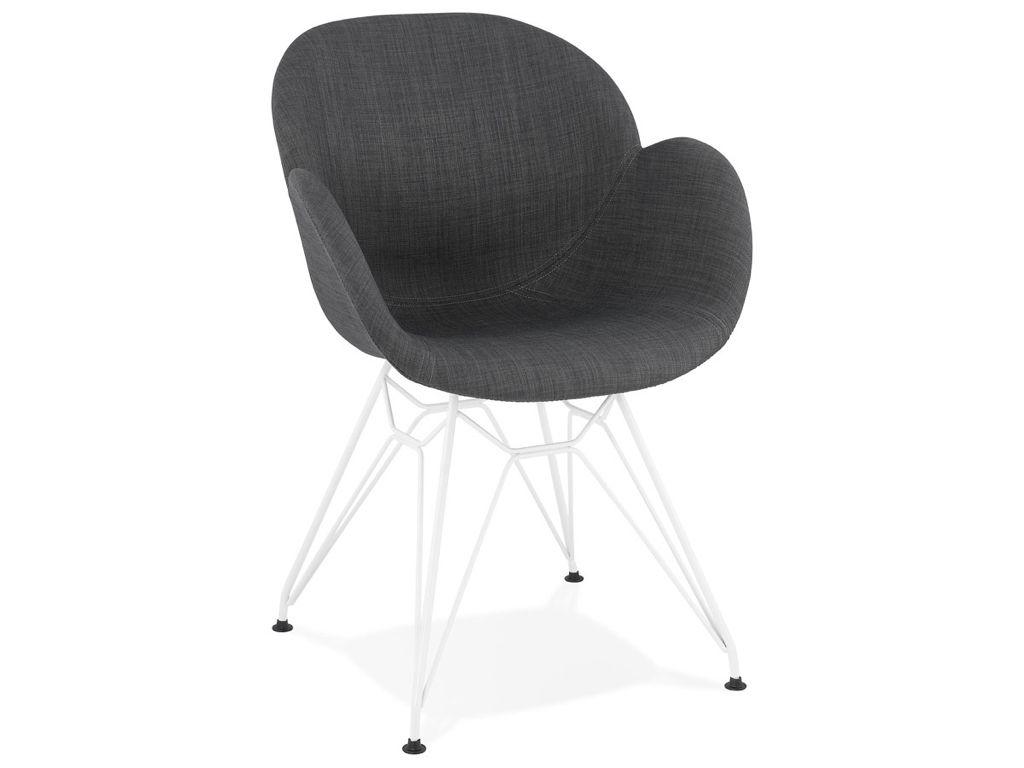 Kokoon Design Lider Armchair Dark Grey Chair Design Modern